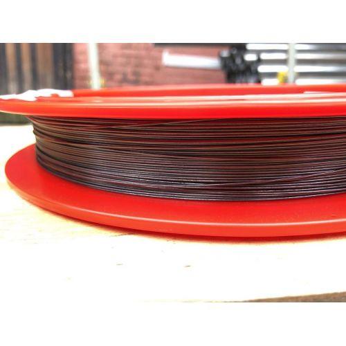 Tungsten wire Ø0.1-1.5mm 99.95% pure metal inch cut light bulb 1-50meters, metals rare