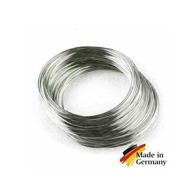 Fjäderståltråd 0,1-10mm fjädertråd 1.4310 rostfritt stål 301 rostfritt 1-200 meter, rostfritt stål
