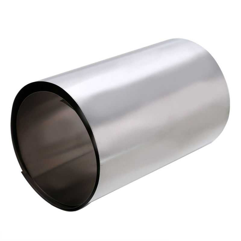 Titanbandstjocklek 0,1-0,5 mm titan 3,7025 bredd 100 mm band 0,1 meter till 50 meter, titan