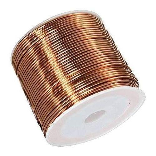 Koppartråd Ø0.05-2.8mm emaljerad tråd Cu 99.9 wnr 2.0090 hantverkstråd 2-750 meter, koppar