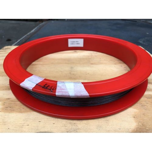 Tungsten wire 99.9% from Ø 0.02mm to Ø 5mm pure metal element 74 Wire tungsten