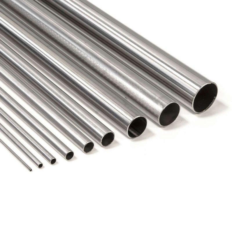 Titanrör klass 2 runda 6-16mm 3,7035 klass 2 rörstorlek 2 anti syra 0,1-2 meter
