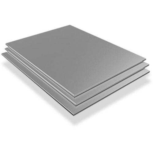 Rostfritt stålplåt 20mm V4A Wnr. 1,4571 ark skurna till storlek 100 mm till 1000 mm, rostfritt stål