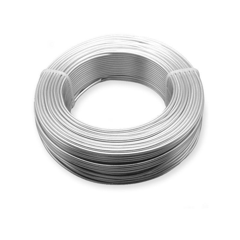 Ø 0,5-5 mm aluminiumtråd bindande tråd trädgårdstråd hantverk 2-750 meter
