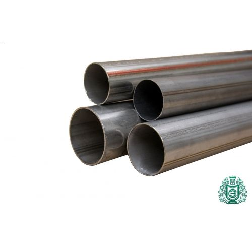 Rostfritt stålrör Ø 50x1,2-65x1mm 1,4828 rundrör 309 V2A avgasräcke 0,25-2 meter, rostfritt stål