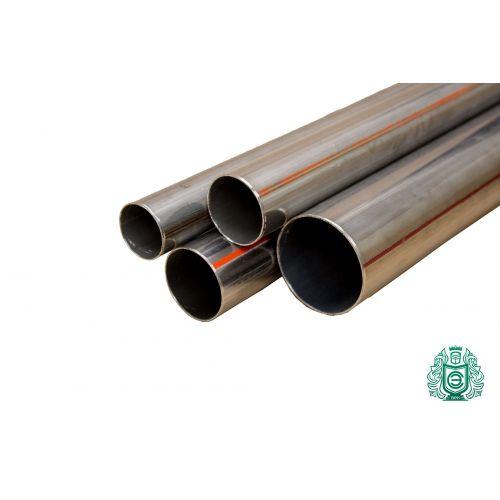 Rostfritt stålrör 42x4,8-48x5mm 1,4845 Aisi 310S 0,25-2 meter vattenrör runt rör metallkonstruktion, rostfritt stål