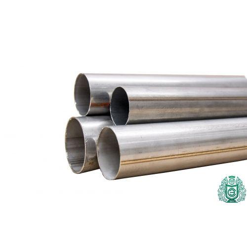 Rundrör 1.4301 Aisi 304 Ø15x2.5-101.6x2mm rostfritt stålrör V2A avgasräcke 0,25-2 meter, rostfritt stål